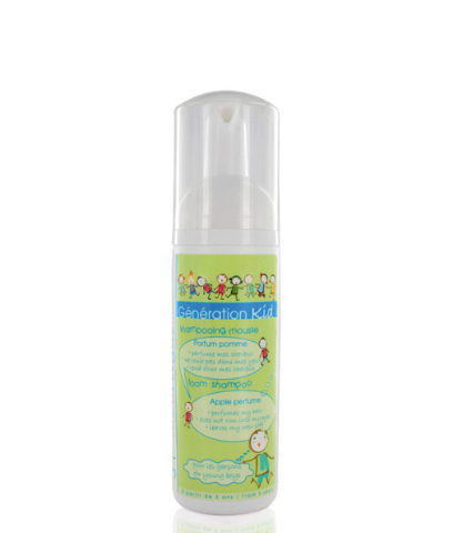 j.f lazartigue Generation Kid Foam Shampoo with Apple Perfume