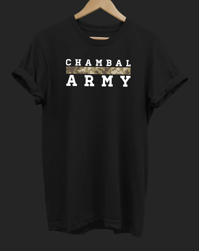 The Chambal Army Camouflage T-Shirt - The Chambal
