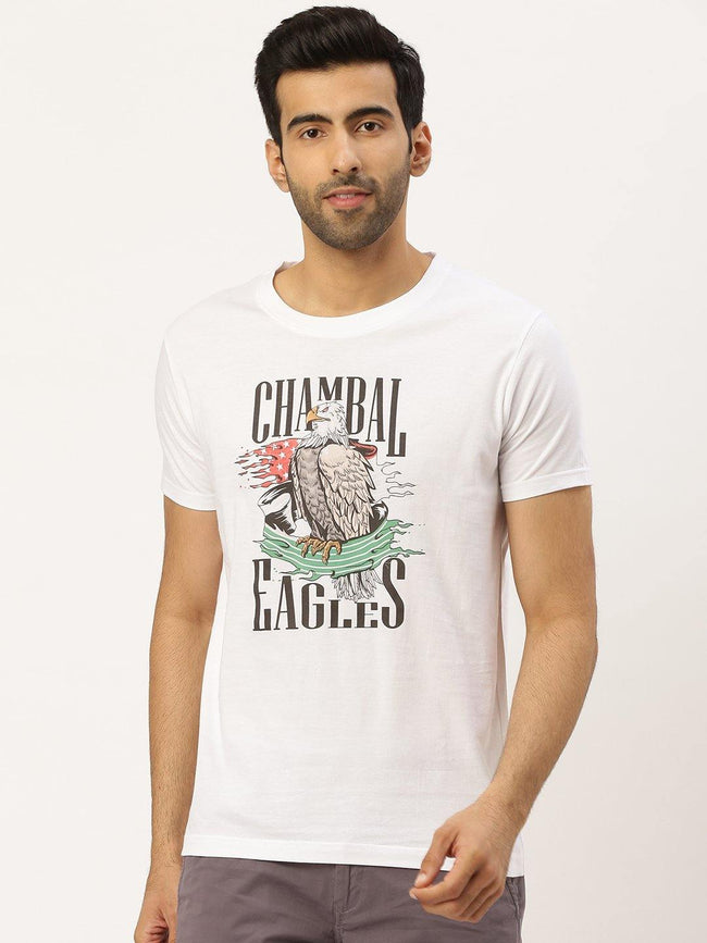 Chambal Eagles White T-Shirt - The Chambal