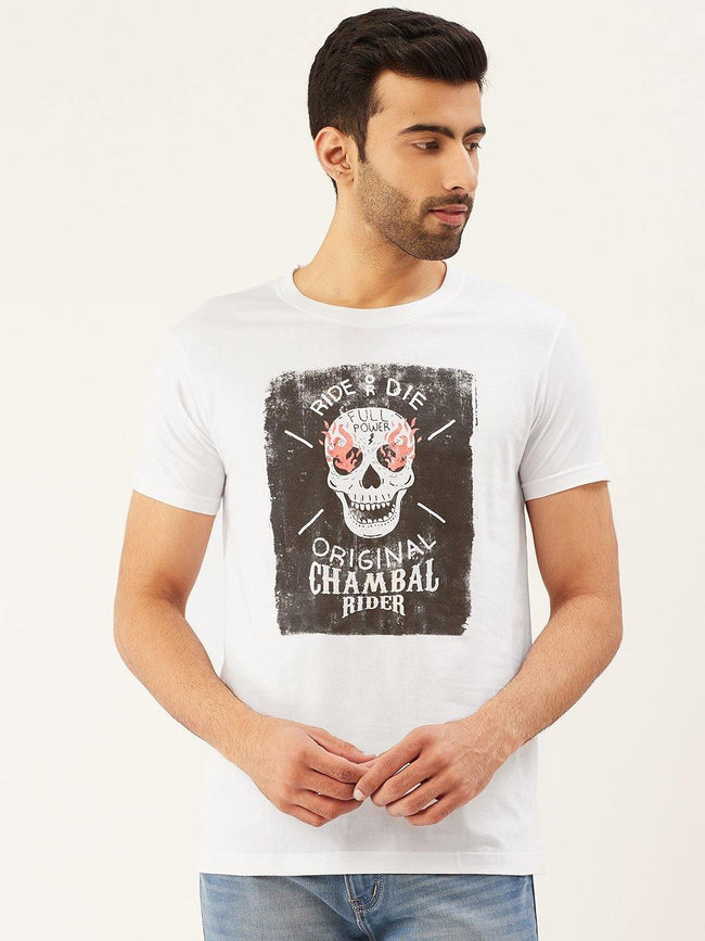 Original Chambal Rider White T-Shirt - The Chambal