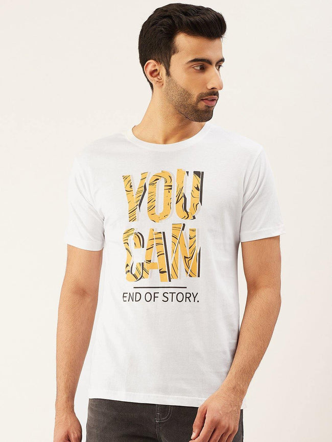 You Can White T-Shirt - The Chambal