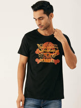 Speedway Black T-Shirt - The Chambal