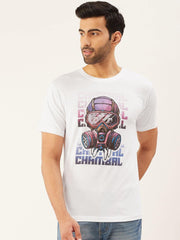Cyberpunk White T-Shirt - The Chambal