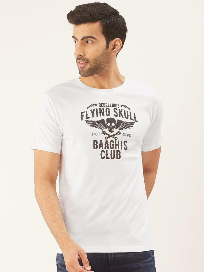 Baaghi Club White T-Shirt - The Chambal