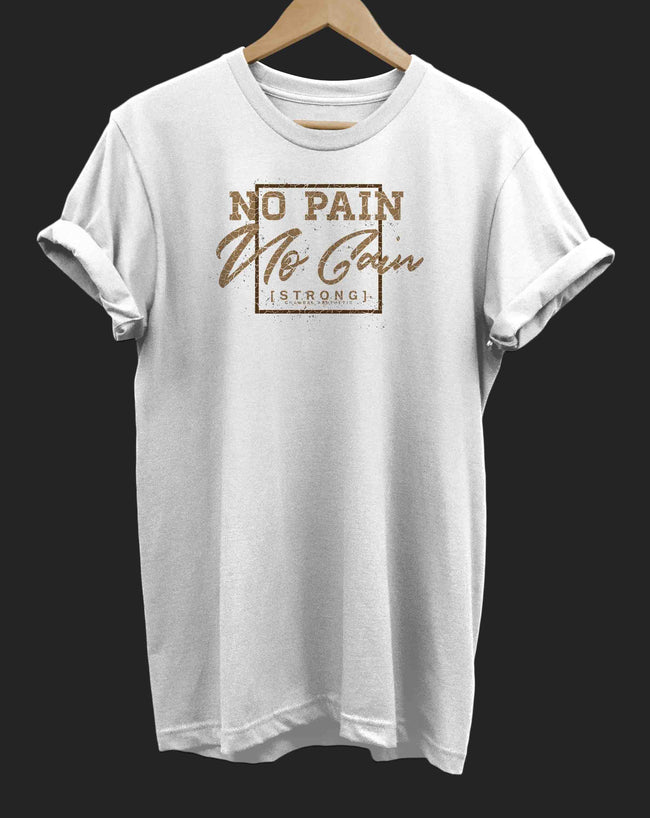 Chambal No Pain No Gain T-Shirt - The Chambal