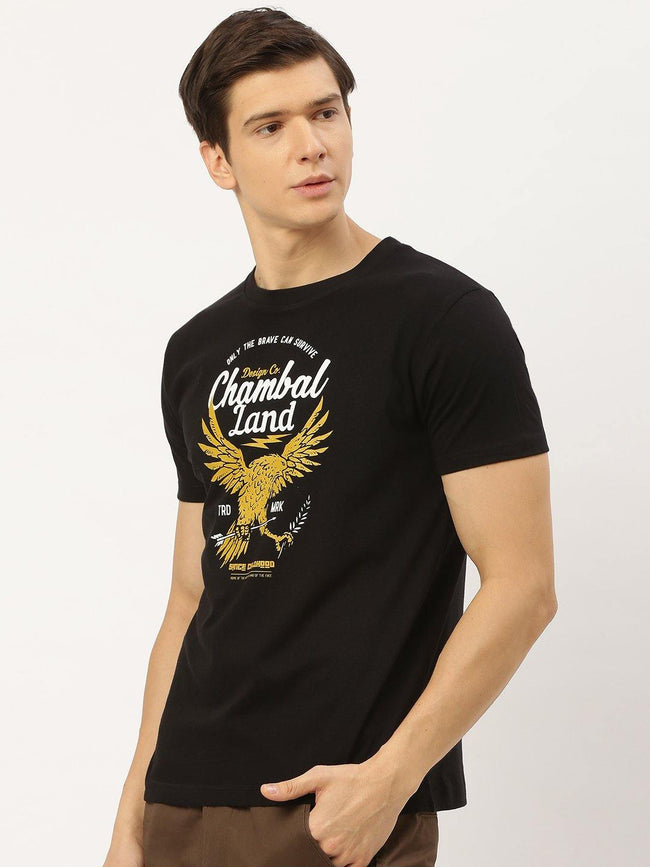 Chambal Land Black T-Shirt - The Chambal