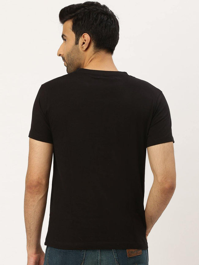 Rebellious Ride Black T-Shirt - The Chambal