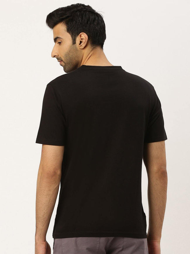 Born Free Black T-Shirt - The Chambal