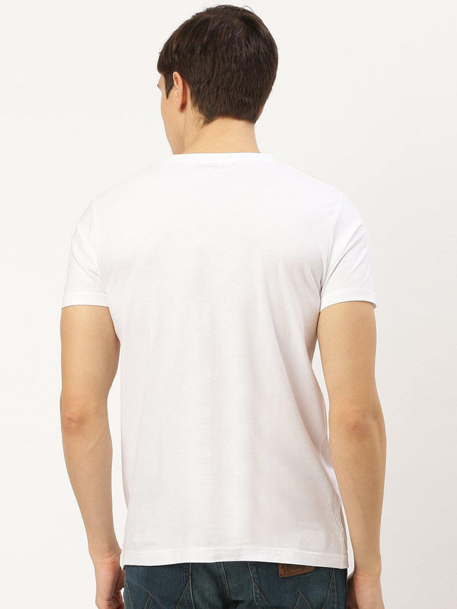 Slit Animal White T-Shirt - The Chambal