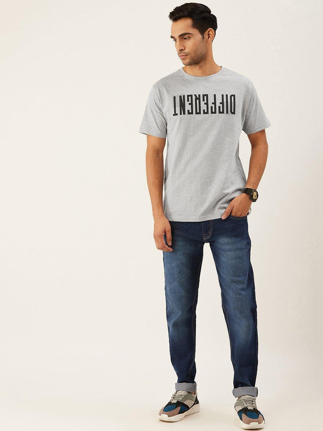 Be Different Grey T-Shirt - The Chambal