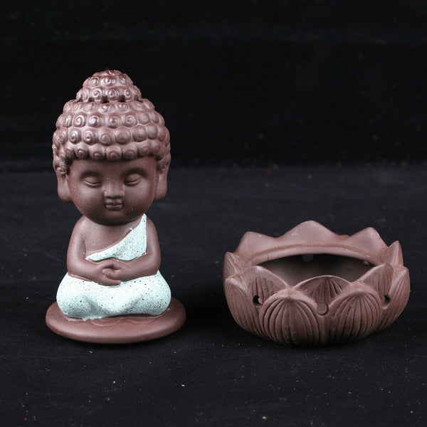 LOTUS MONK INCENSE BURNER
