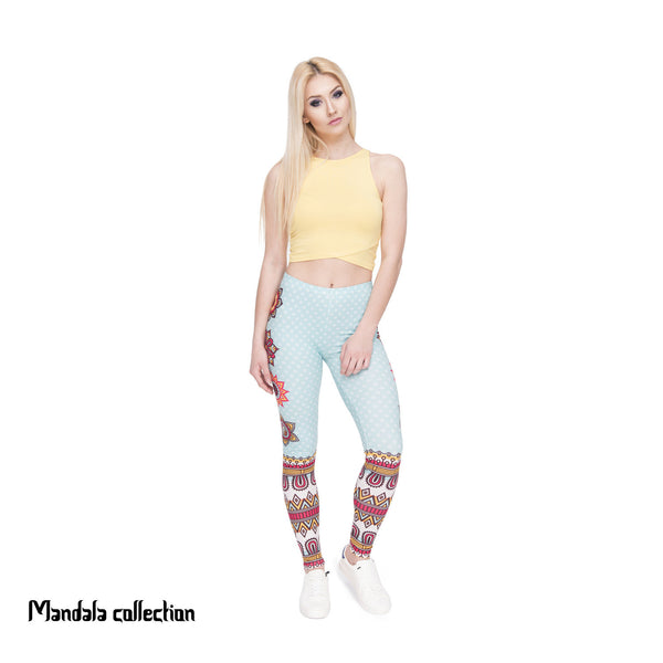 Mandala Leggings Yoga workout pants