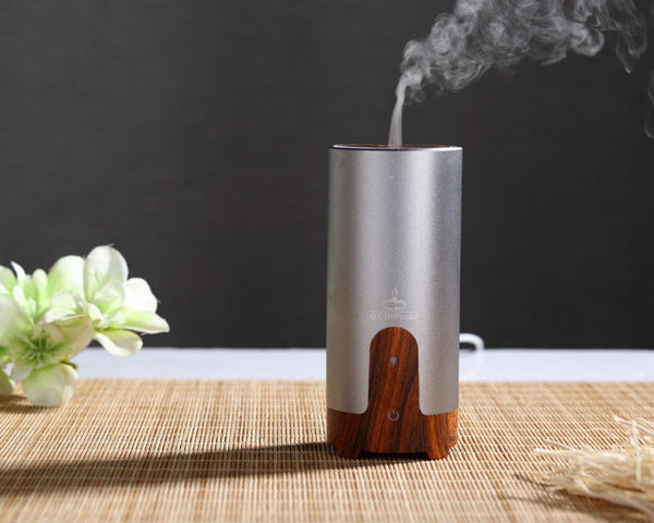 Car USB Ultrasonic Humidifier Essential Oil Diffuser
