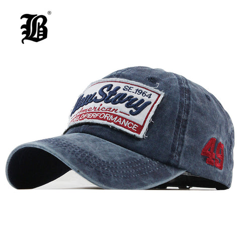 Baseball Cap Embroidery snapback hat for men women