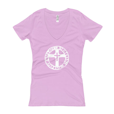 The Seal of the Soldiers of Eustace Women's V-Neck T-shirt