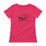 1967 Chevy Malibu - Ladies' Scoopneck T-Shirt