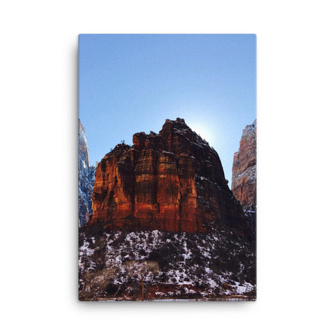 Snow & Rock Canvas