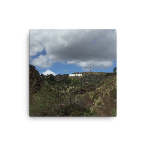 Hollywood Sign Canvas