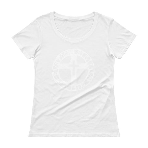 The Seal of the Soldiers of Eustace Ladies' Scoopneck T-Shirt