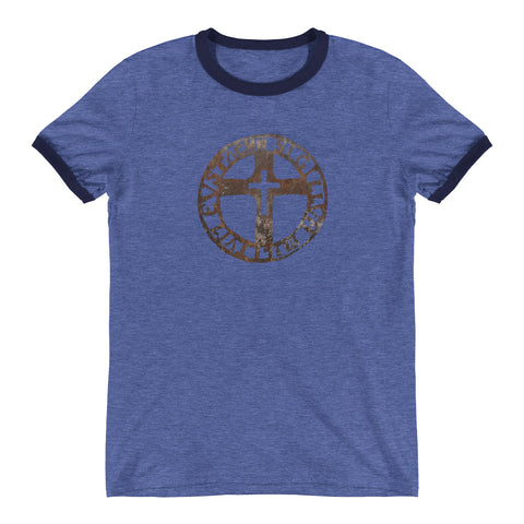 The Seal of the Soldiers of Eustace - Ringer T-Shirt by Nicholas Arriaza