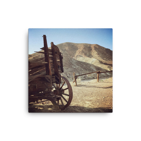 Wagon wheel Canvas