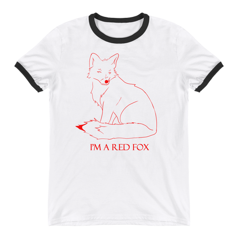 I'm a red fox - Ringer T-Shirt