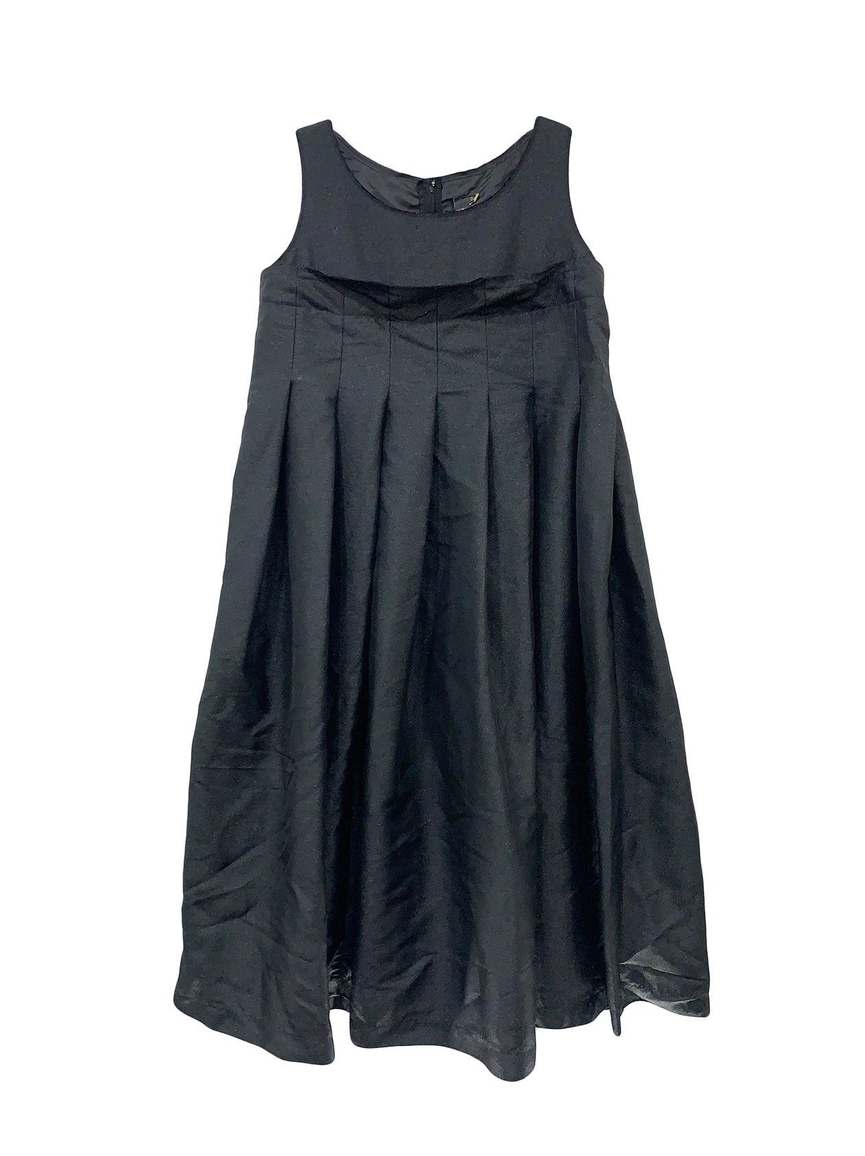 Pleated Jumper Dress
