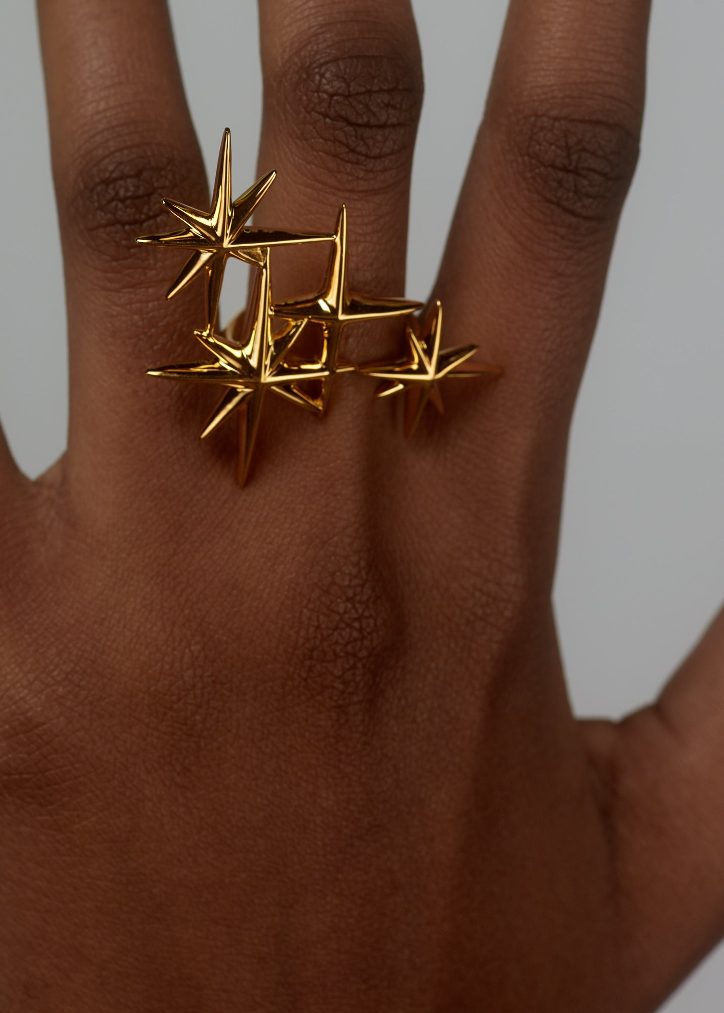 Constellation Ring (Gold) ACCESSORIES DI DU - NOLM - Clothes Online - nolmau.com - Sydney-Australia Online Shopping