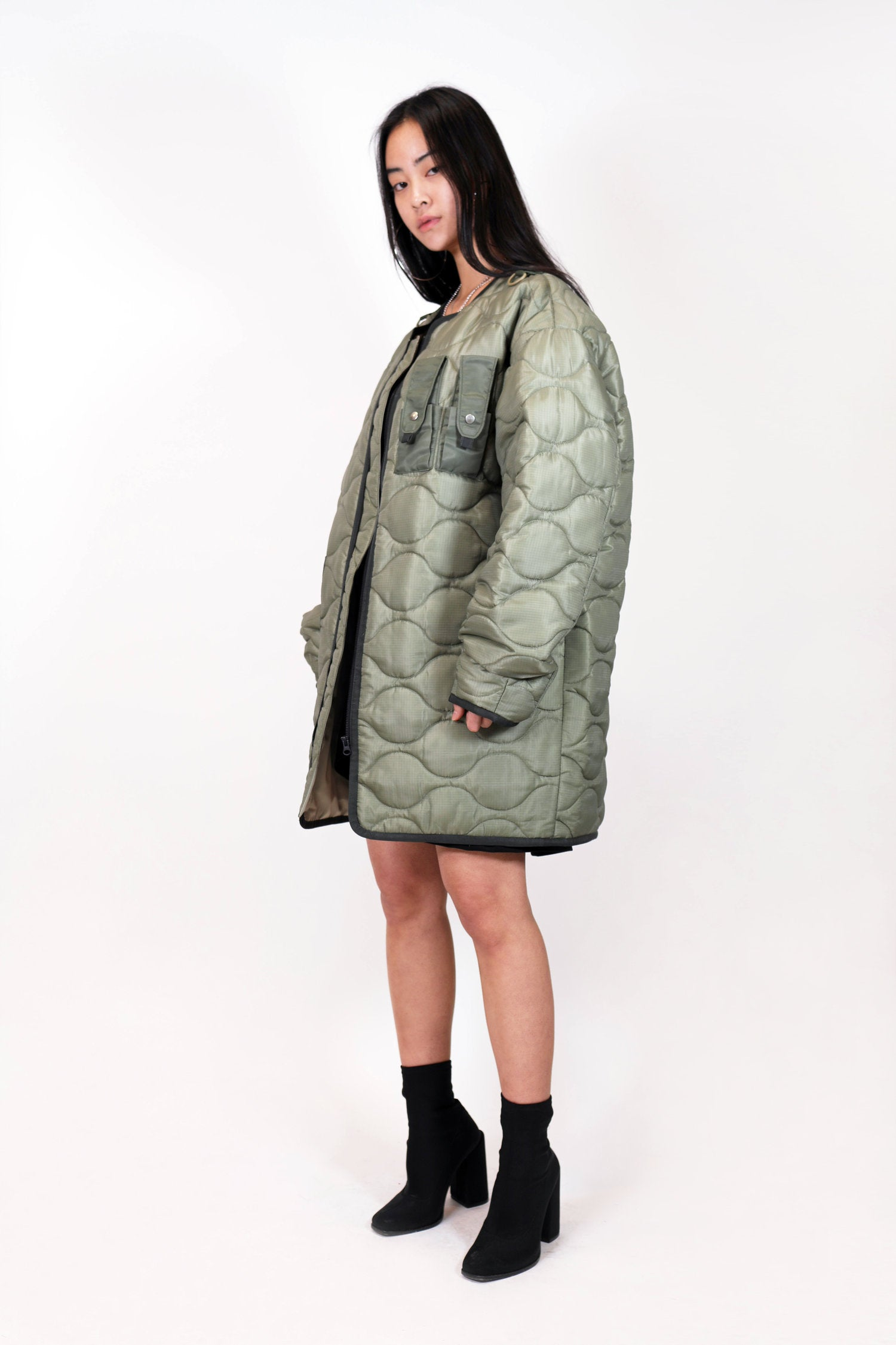 QUILTED BLOUSON OUTER hyein seo - NOLM - Clothes Online - nolmau.com - Sydney-Australia Online Shopping