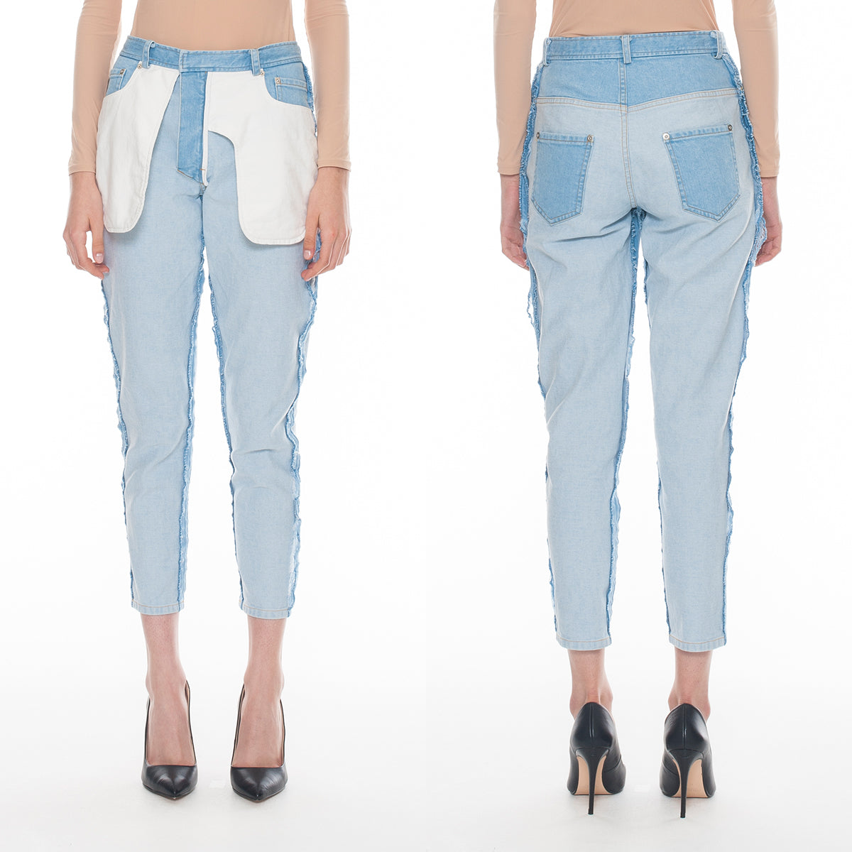 Inside Out Jeans Bottoms DRESSEDUNDRESSED - NOLM - Clothes Online - nolmau.com - Sydney-Australia Online Shopping