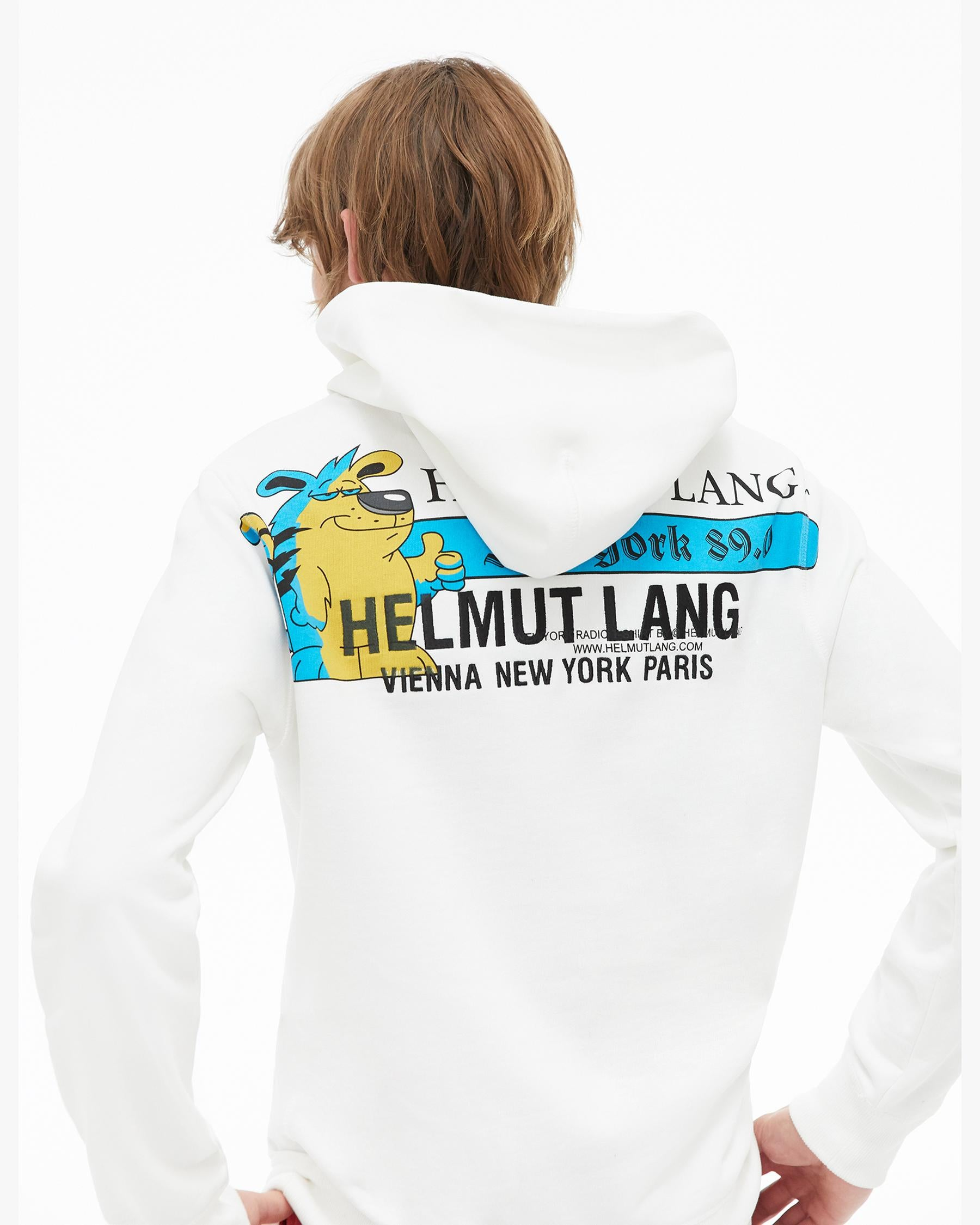 Radio Hoodie (Chalk White) TOP HELMUT LANG - NOLM - Clothes Online - nolmau.com - Sydney-Australia Online Shopping