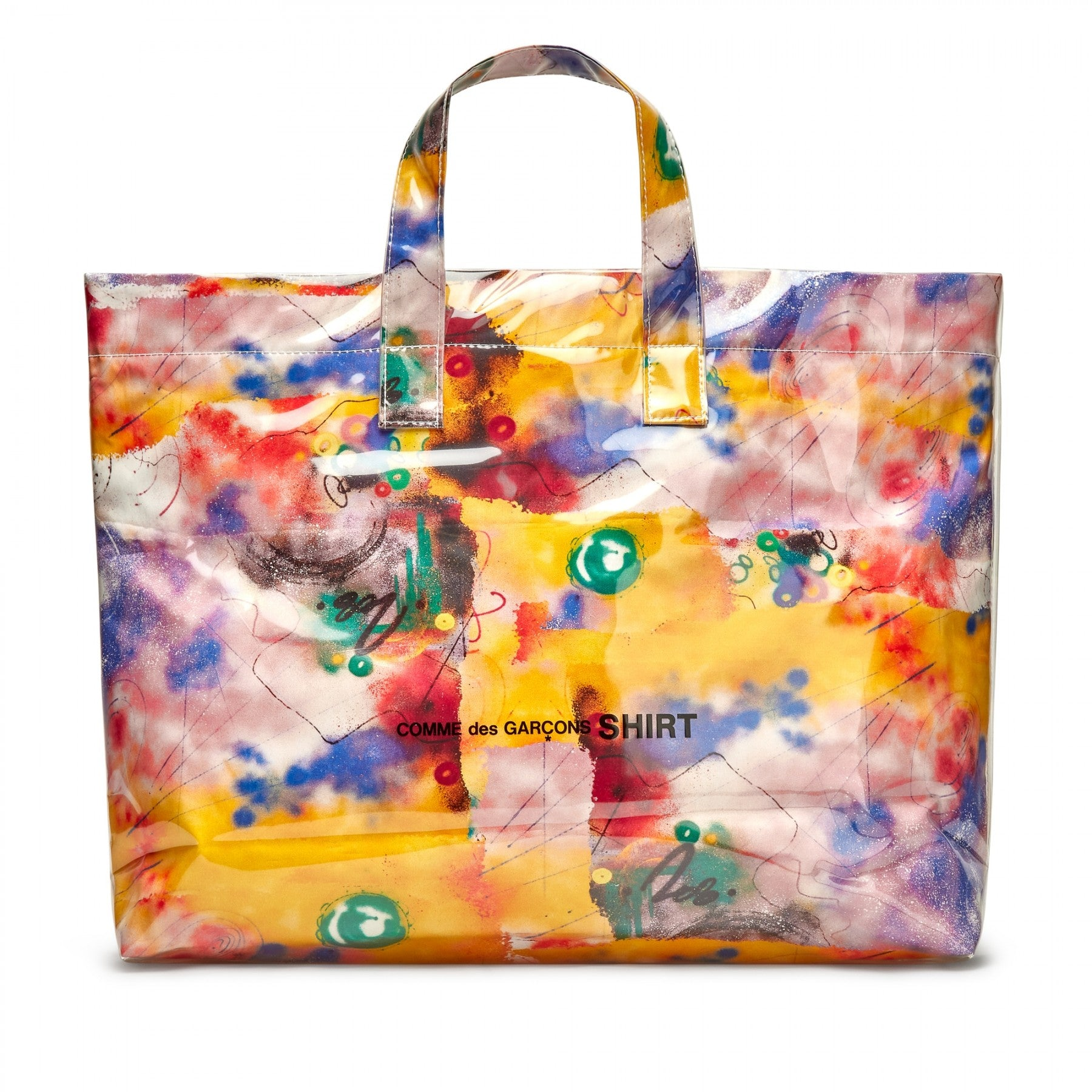 Yellow CDG SHIRT x Futura Tote Bag (Pre-order)