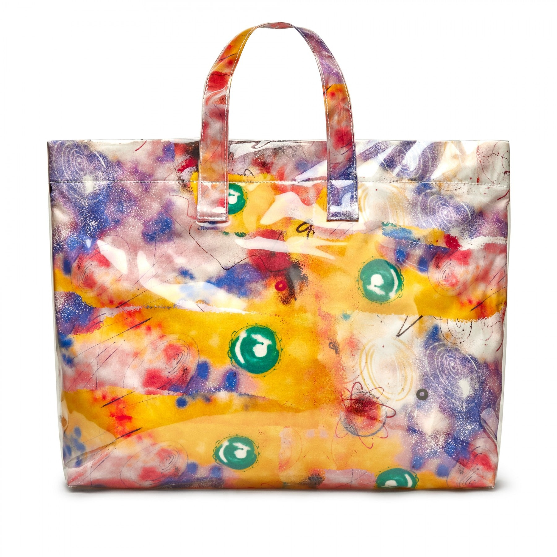 Yellow CDG SHIRT x Futura Tote Bag