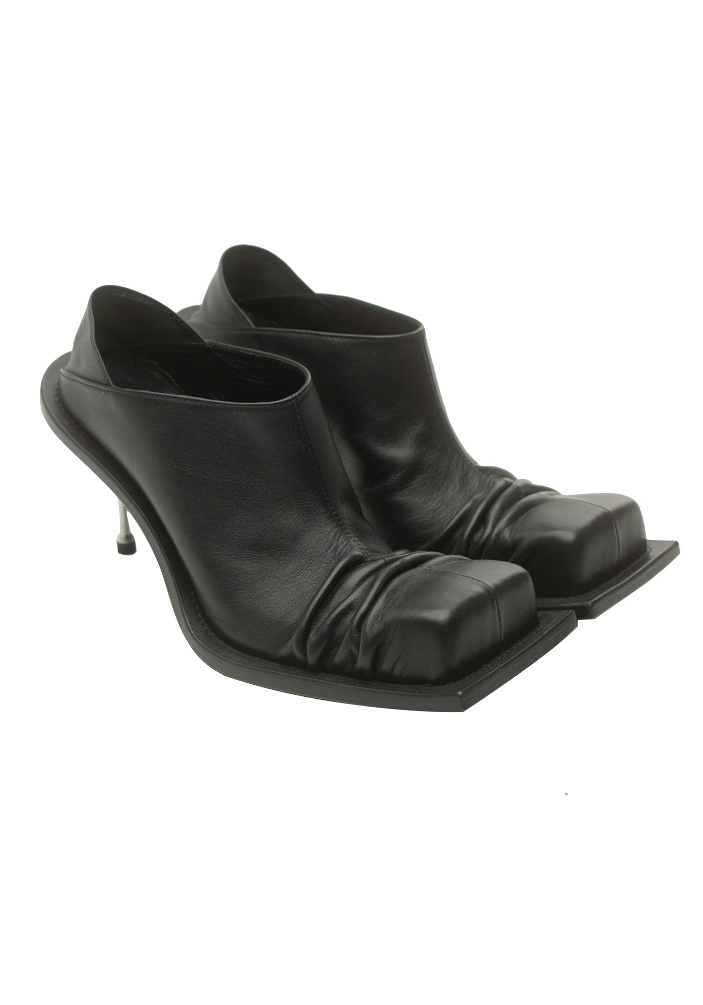 Convertible Mules (Black)