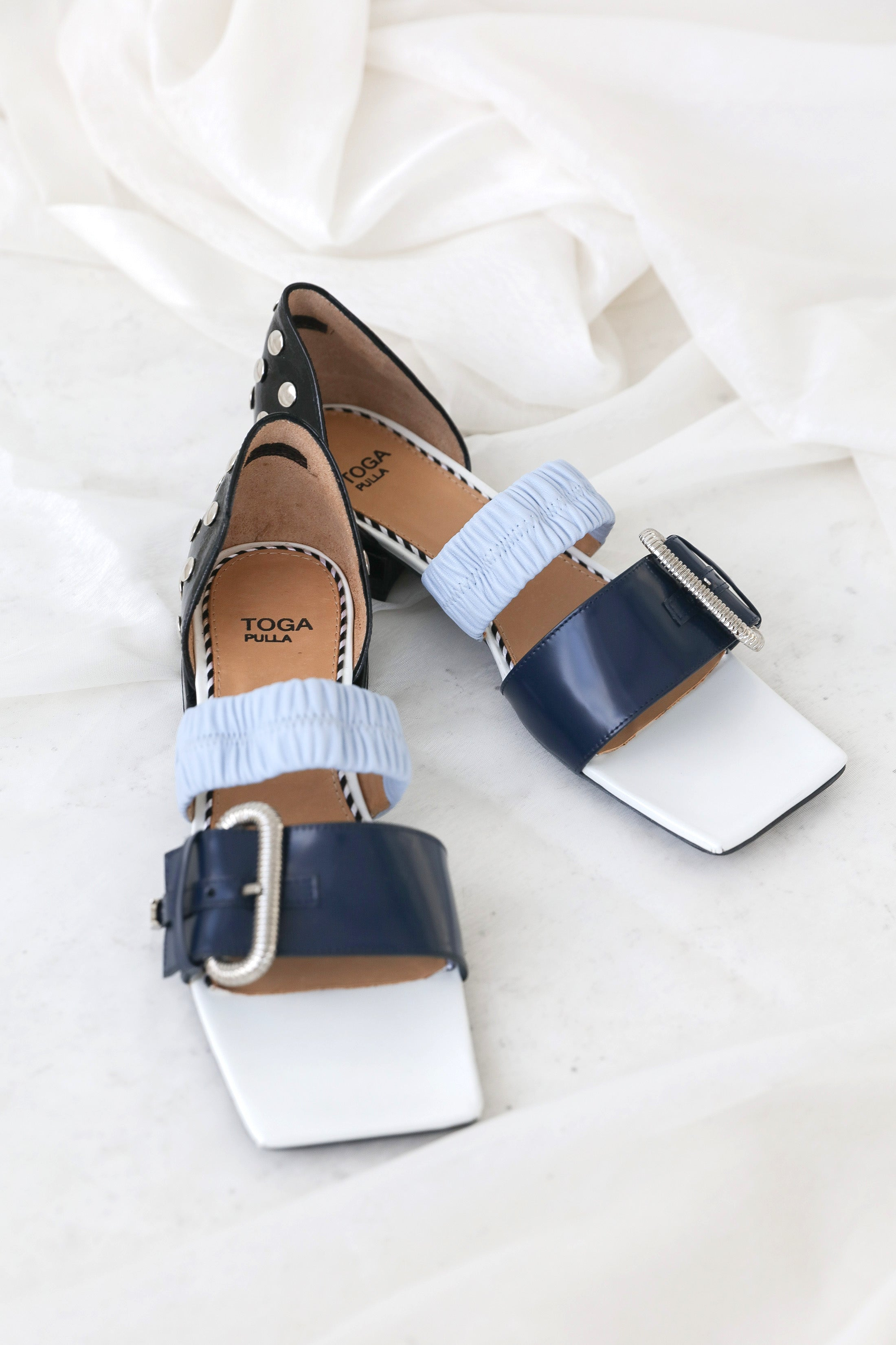 TOGA PULLA Double Strap Sandals Shoes TOGA - NOLM - Clothes Online - nolmau.com - Sydney-Australia Online Shopping