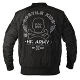 "HK Army ""Collide"" Bomber Jacket"