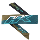 HK Army Retro Headband Edge Aqua / Gold