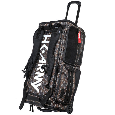 HK Army 76 L Expand Paintball Roller Gear Bag Hostilewear tan