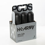 HK Army HSTL Pods - High Capacity 150er - 6 Packs in vielen Farben