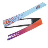 HK Army Retro Headband Liquid orange / teal