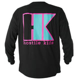 HK Army OG Series Long Sleeve black / teal Baumwolle