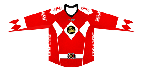 HK Army Halloween Edition Jersey Power Rangers