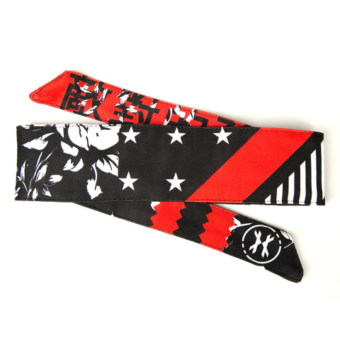 HK Army Headband Reign red