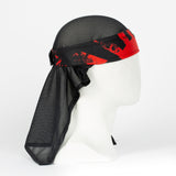 HK Army Headwrap - Sandana Rising Sun black