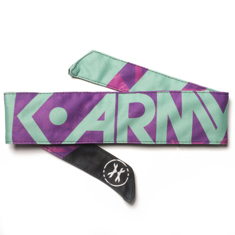 HK Army Headband Shale purple