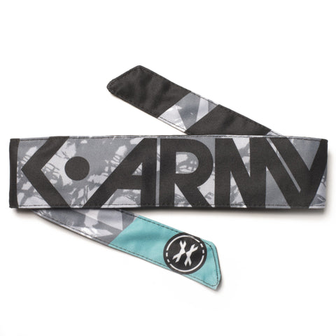 HK Army Headband Shale teal