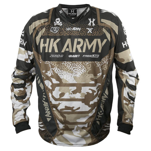 NEU - HK Army Freeline Paintball Jersey Sig Series camo