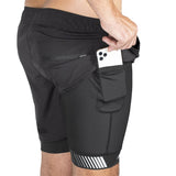 HK Army Sprint - Athletex Shorts - Lauf und Training Shorts - black