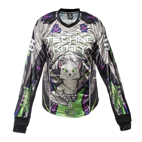 "HK Army ""Techno Kitty"" Paintball Jersey - der Wahnsinn!"