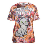 "HK Army Techno Kitty ""Donuts"" DryFit Shirt"